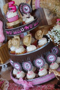 Cowgirl Princess Fifth Birthday Party via Kara's Party Ideas | Kara'sPartyIdeas.com #cowgirl #princess #birthday #party #ideas #supplies #decorations (12)
