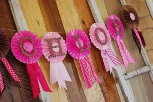 Cowgirl Princess Fifth Birthday Party via Kara's Party Ideas | Kara'sPartyIdeas.com #cowgirl #princess #birthday #party #ideas #supplies #decorations (3)