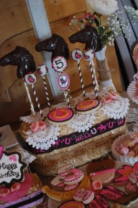Cowgirl Princess Fifth Birthday Party via Kara's Party Ideas | Kara'sPartyIdeas.com #cowgirl #princess #birthday #party #ideas #supplies #decorations (26)