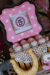 Cowgirl Princess Fifth Birthday Party via Kara's Party Ideas | Kara'sPartyIdeas.com #cowgirl #princess #birthday #party #ideas #supplies #decorations (24)
