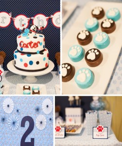Puppy Paw-ty with LOTS of Ideas via Kara's Party Ideas | Kara'sPartyIdeas.com #puppy #party #ideas #supplies #planning #paw #party
