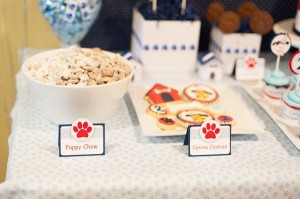 Puppy Paw-ty via Kara's Party Ideas | Kara'sPartyIdeas.com #puppy #party #ideas #supplies #planning #paw #party (20)