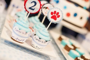 Puppy Paw-ty via Kara's Party Ideas | Kara'sPartyIdeas.com #puppy #party #ideas #supplies #planning #paw #party (13)