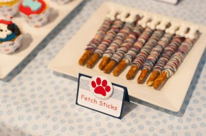 Puppy Paw-ty via Kara's Party Ideas | Kara'sPartyIdeas.com #puppy #party #ideas #supplies #planning #paw #party (9)