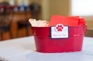 Puppy Paw-ty via Kara's Party Ideas | Kara'sPartyIdeas.com #puppy #party #ideas #supplies #planning #paw #party (4)