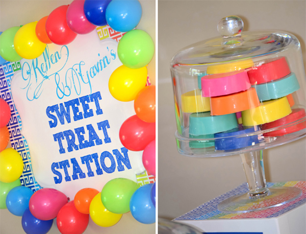 Rainbow Art Party via Kara's Party Ideas | Kara'sPartyIdeas.com #rainbow #art #party #supplies #ideas (15)