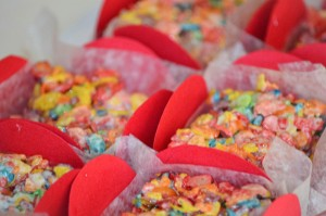 Rainbow Art Party via Kara's Party Ideas | Kara'sPartyIdeas.com #rainbow #art #party #supplies #ideas (10)