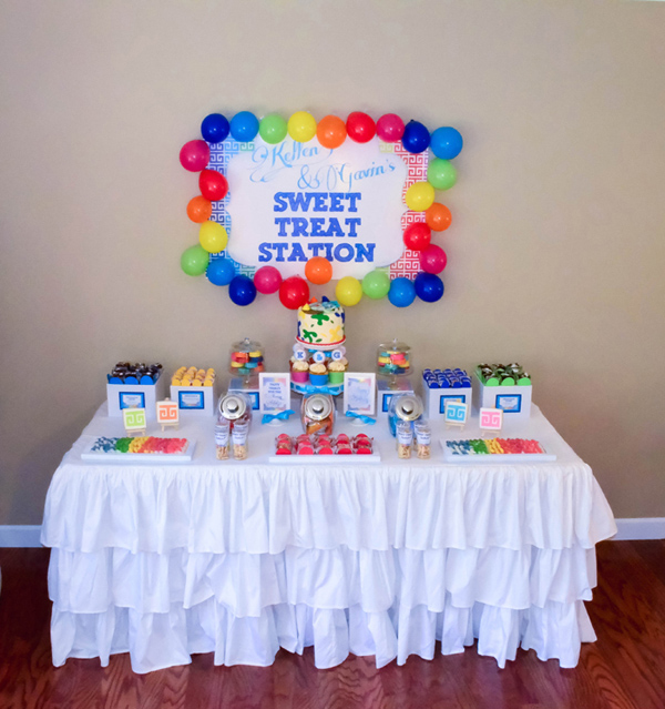Rainbow Art Party via Kara's Party Ideas | Kara'sPartyIdeas.com #rainbow #art #party #supplies #ideas (8)