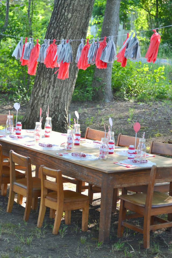 The Red Balloon Party via Kara's Party Ideas | KarasPartyIdeas.com #the #red #balloon #party #ideas #supplies (5)