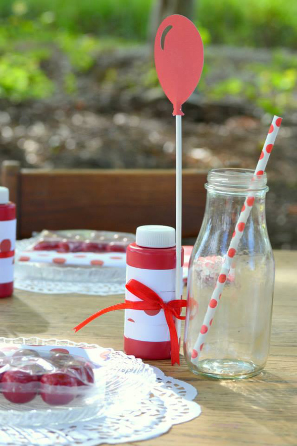 The Red Balloon Party via Kara's Party Ideas | KarasPartyIdeas.com #the #red #balloon #party #ideas #supplies (4)