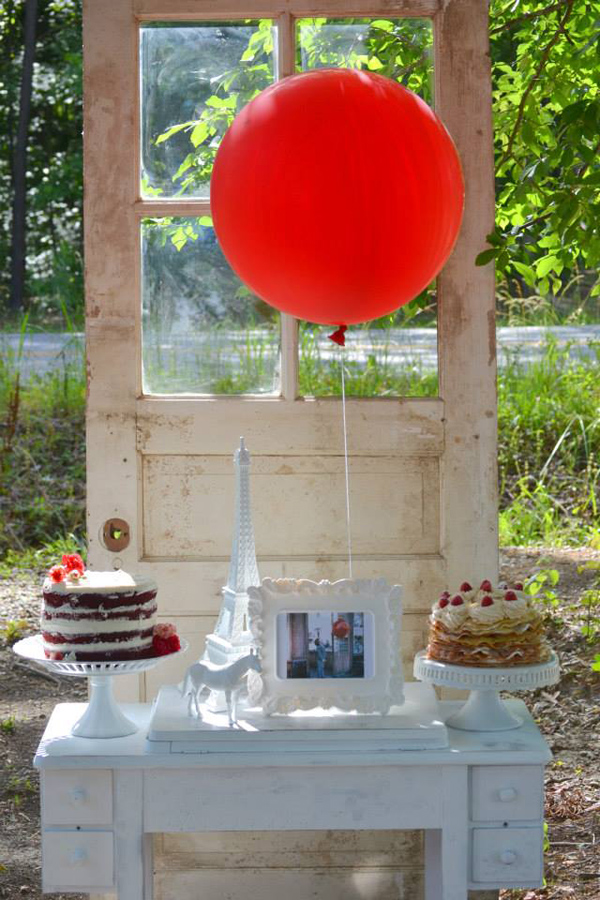 The Red Balloon Party via Kara's Party Ideas | KarasPartyIdeas.com #the #red #balloon #party #ideas #supplies (3)