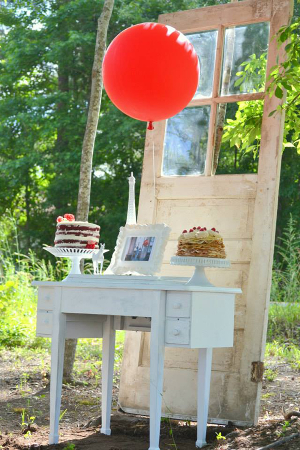 The Red Balloon Party via Kara's Party Ideas | KarasPartyIdeas.com #the #red #balloon #party #ideas #supplies (15)