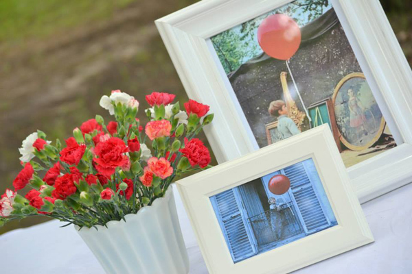 The Red Balloon Party via Kara's Party Ideas | KarasPartyIdeas.com #the #red #balloon #party #ideas #supplies (14)