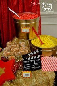 Red Carpet Birthday Party via Kara's Party Ideas | Kara'sPartyIdeas.com #red #carpet #birthday #party #ideas #supplies #decorations (19)