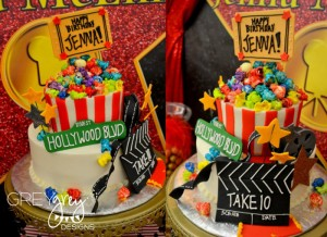 Red Carpet Birthday Party via Kara's Party Ideas | Kara'sPartyIdeas.com #red #carpet #birthday #party #ideas #supplies #decorations (8)
