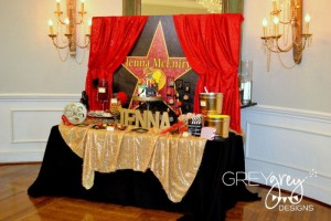 Red Carpet Birthday Party via Kara's Party Ideas | Kara'sPartyIdeas.com #red #carpet #birthday #party #ideas #supplies #decorations (7)