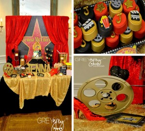 Red Carpet Birthday Party with TONS of Ideas via Kara's Party Ideas | Kara'sPartyIdeas.com #red #carpet #birthday #party #ideas #supplies #decorations