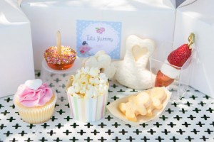 Ballerina Birthday Party via KarasPartyIdeas.com #ballet #princess #party #idea #supplies (65)