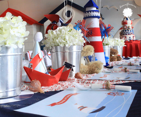 Sailor Bear Birthday Party via Kara's Party Kara'PartyIdeas.com #sailor #bear #birthday #party #planning #ideas #supplies (4)