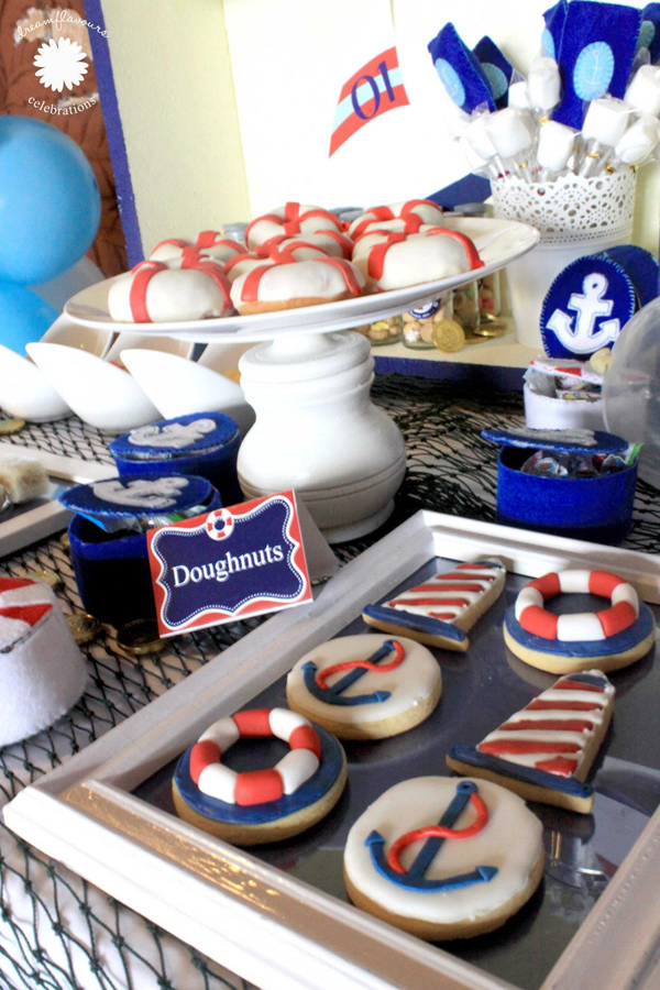 Sailor Bear Birthday Party via Kara's Party Kara'PartyIdeas.com #sailor #bear #birthday #party #planning #ideas #supplies (2)