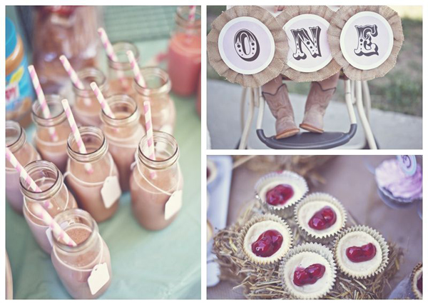 Shabby Chic Cowgirl Birthday Party via Kara's Party Ideas | Kara'sPartyIdeas.com #shabby #chic #cowgirl #birthday #party #ideas #supplies (15)