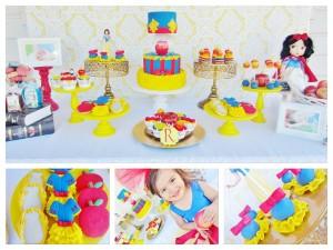 Snow White Birthday Party via Kara
