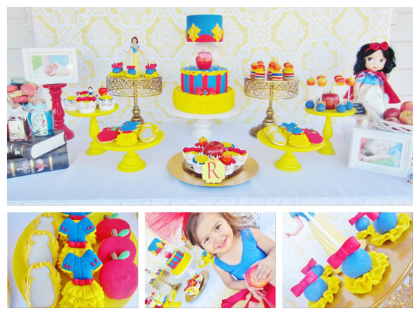 Snow White Birthday Party via Kara