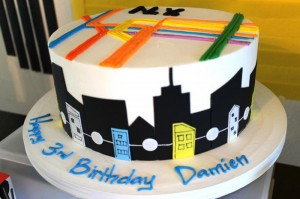 #NewYork #SubwayCake #Subway #planning #ideas #decorations #party #supplies (7)
