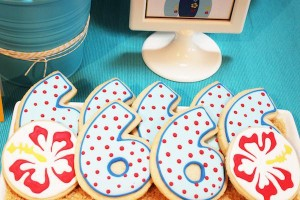 Surf themed birthday party via Kara's Party Ideas KarasPartyIdeas.com #surf #themed #birthday #party #ideas #cake #supplies #idea-36_600x400