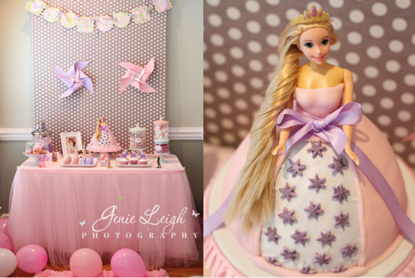 3rd birthday party ideas for girl peppa pig karas party ideas disneys tangled rapunzel girl princess birthday planning