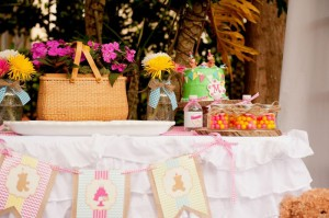 Teddy Bear Picnic 3rd Birthday Party via Kara's Party Ideas | Kara'sPartyIdeas.com #teddy #bear #picnic #3rd #birthday #party #supplies #ideas (31)
