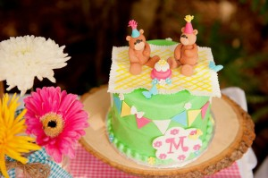 Teddy Bear Picnic 3rd Birthday Party via Kara's Party Ideas | Kara'sPartyIdeas.com #teddy #bear #picnic #3rd #birthday #party #supplies #ideas (30)