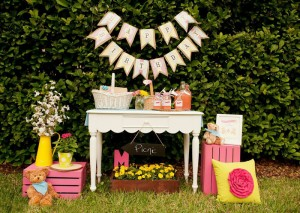 Teddy Bear Picnic 3rd Birthday Party via Kara's Party Ideas | Kara'sPartyIdeas.com #teddy #bear #picnic #3rd #birthday #party #supplies #ideas (28)