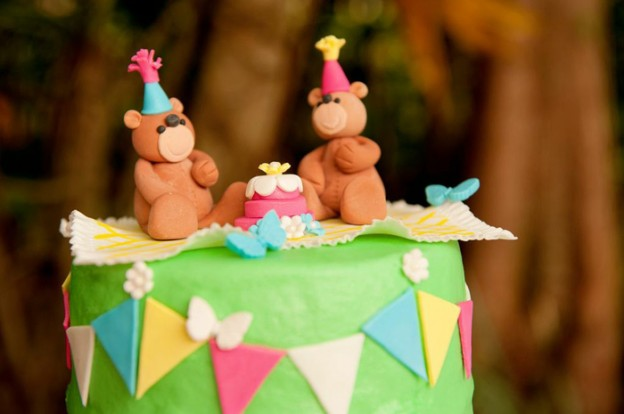 Teddy Bear Picnic 3rd Birthday Party via Kara's Party Ideas | Kara'sPartyIdeas.com #teddy #bear #picnic #3rd #birthday #party #supplies #ideas (26)
