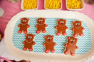 Teddy Bear Picnic 3rd Birthday Party via Kara's Party Ideas | Kara'sPartyIdeas.com #teddy #bear #picnic #3rd #birthday #party #supplies #ideas (24)