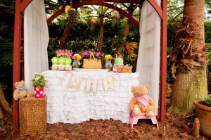 Teddy Bear Picnic 3rd Birthday Party via Kara's Party Ideas | Kara'sPartyIdeas.com #teddy #bear #picnic #3rd #birthday #party #supplies #ideas (16)