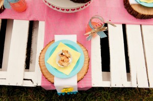 Teddy Bear Picnic 3rd Birthday Party via Kara's Party Ideas | Kara'sPartyIdeas.com #teddy #bear #picnic #3rd #birthday #party #supplies #ideas (7)