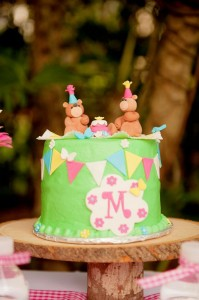 Teddy Bear Picnic 3rd Birthday Party via Kara's Party Ideas | Kara'sPartyIdeas.com #teddy #bear #picnic #3rd #birthday #party #supplies #ideas (4)