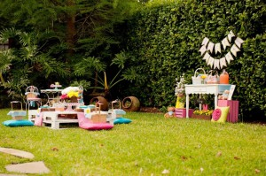 Teddy Bear Picnic 3rd Birthday Party via Kara's Party Ideas | Kara'sPartyIdeas.com #teddy #bear #picnic #3rd #birthday #party #supplies #ideas (38)