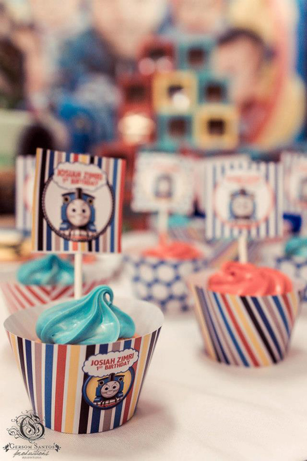 Thomas Train Birthday Party via Kara's Party Ideas | Kara'sPartyIdeas.com #thomas #train #birthday #party #supplies #ideas (12)