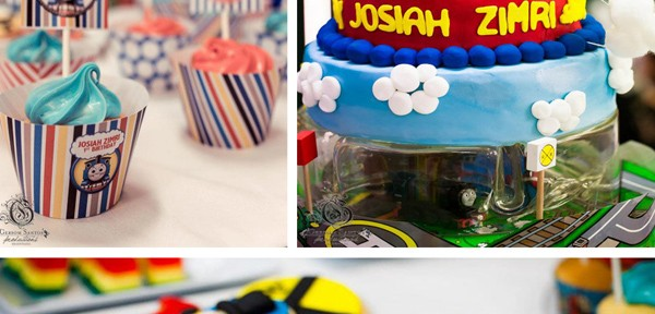 Thomas Train Birthday Party with Lots of Ideas via Kara's Party Ideas | Kara'sPartyIdeas.com #thomas #train #birthday #party #supplies #ideas