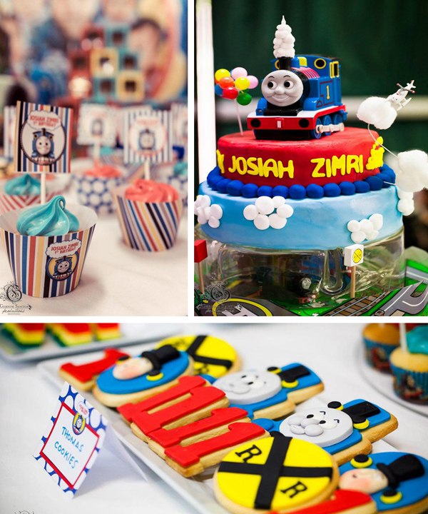 Thomas Train Birthday Party With Lots Of Ideas Via Karas