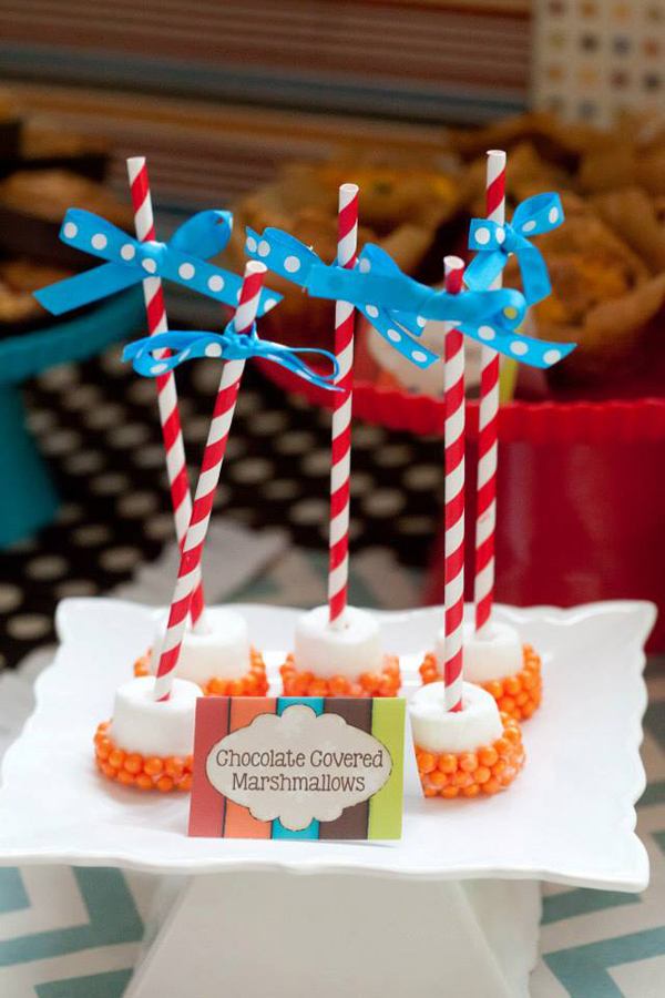 Tickle Monster Second Birthday Party via Kara's Party Ideas | Kara'sPartyIdeas.com #tickle #monster #birthday #party #supplies #ideas (28)