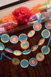 Tickle Monster Second Birthday Party via Kara's Party Ideas | Kara'sPartyIdeas.com #tickle #monster #birthday #party #supplies #ideas (16)