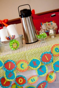 Tickle Monster Second Birthday Party via Kara's Party Ideas | Kara'sPartyIdeas.com #tickle #monster #birthday #party #supplies #ideas (14)