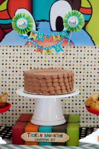 Tickle Monster Second Birthday Party via Kara's Party Ideas | Kara'sPartyIdeas.com #tickle #monster #birthday #party #supplies #ideas (12)