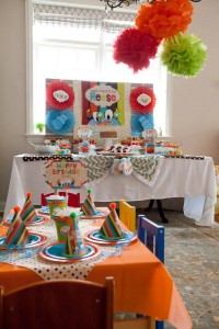 Tickle Monster Second Birthday Party via Kara's Party Ideas | Kara'sPartyIdeas.com #tickle #monster #birthday #party #supplies #ideas (4)
