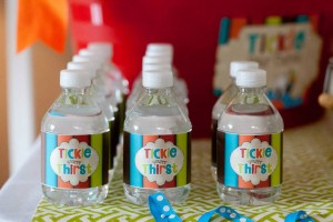 Tickle Monster Second Birthday Party via Kara's Party Ideas | Kara'sPartyIdeas.com #tickle #monster #birthday #party #supplies #ideas (23)