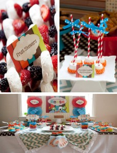 Tickle Monster Second Birthday Party with LOTS of Ideas via Kara's Party Ideas | Kara'sPartyIdeas.com #tickle #monster #birthday #party #supplies #ideas