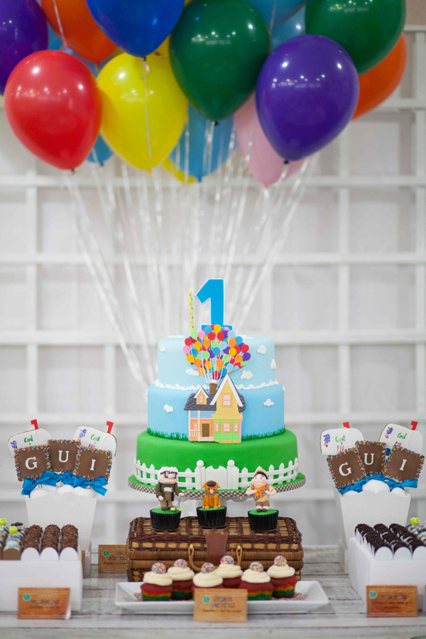 Cake Decorations For Birthday Party : Kara s Party Ideas Up Birthday Party Planning Ideas ...